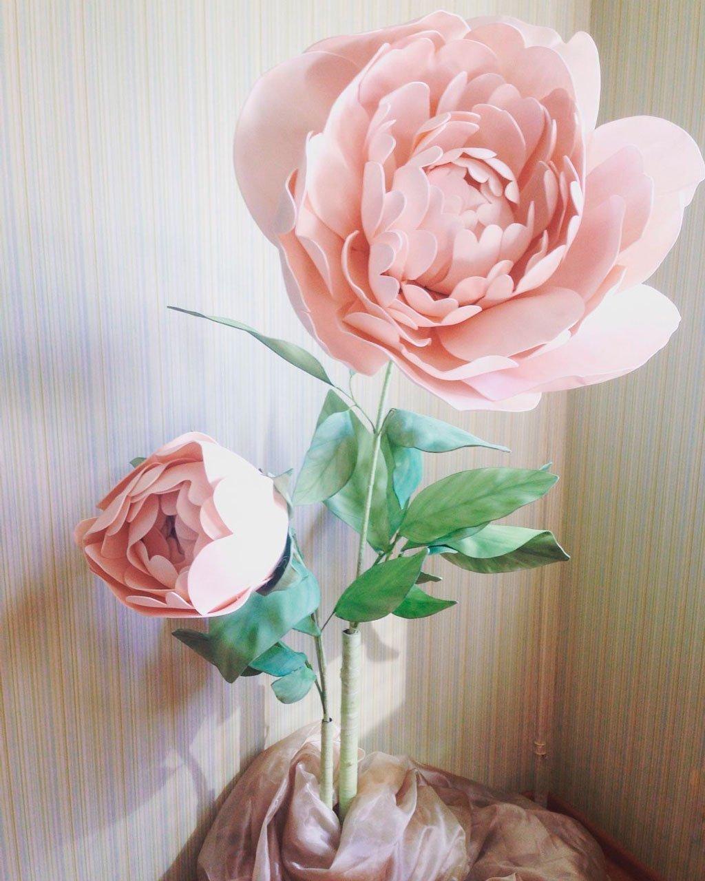 кашпо из живых цветов фото