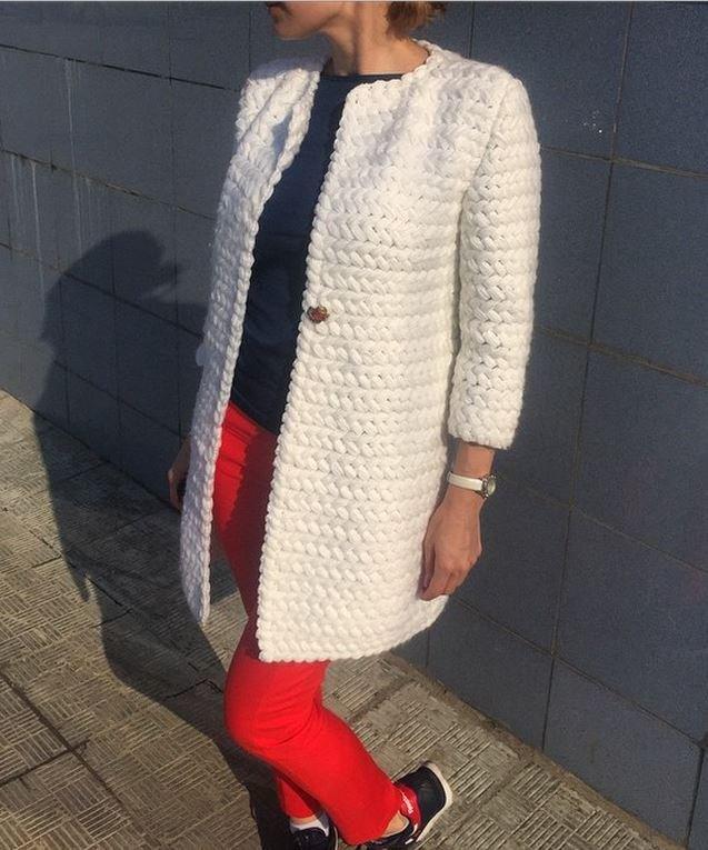 Страна мам вязание кардиганов пальто 86