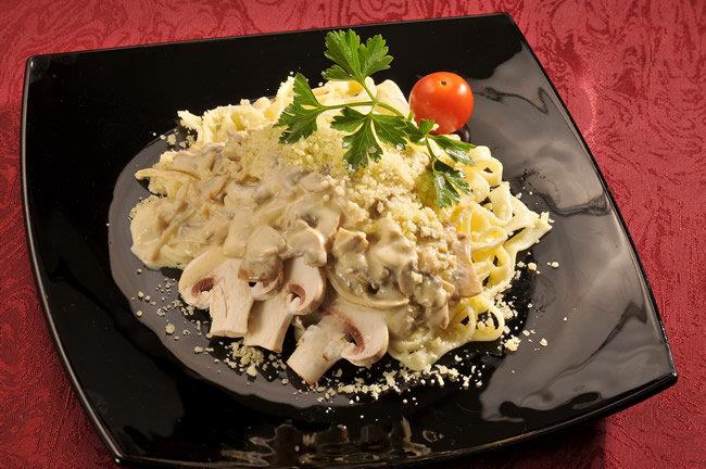 Паста с белыми грибами в сливочном соусе рецепт с пошаговыми