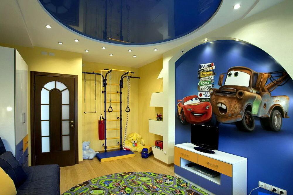 Как сделать детскую комнату для мальчиков фото