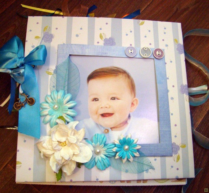 Фотоальбом для ребенка своими руками 200