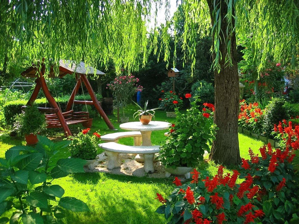 Ландшафтный дизайн огорода дачного участка