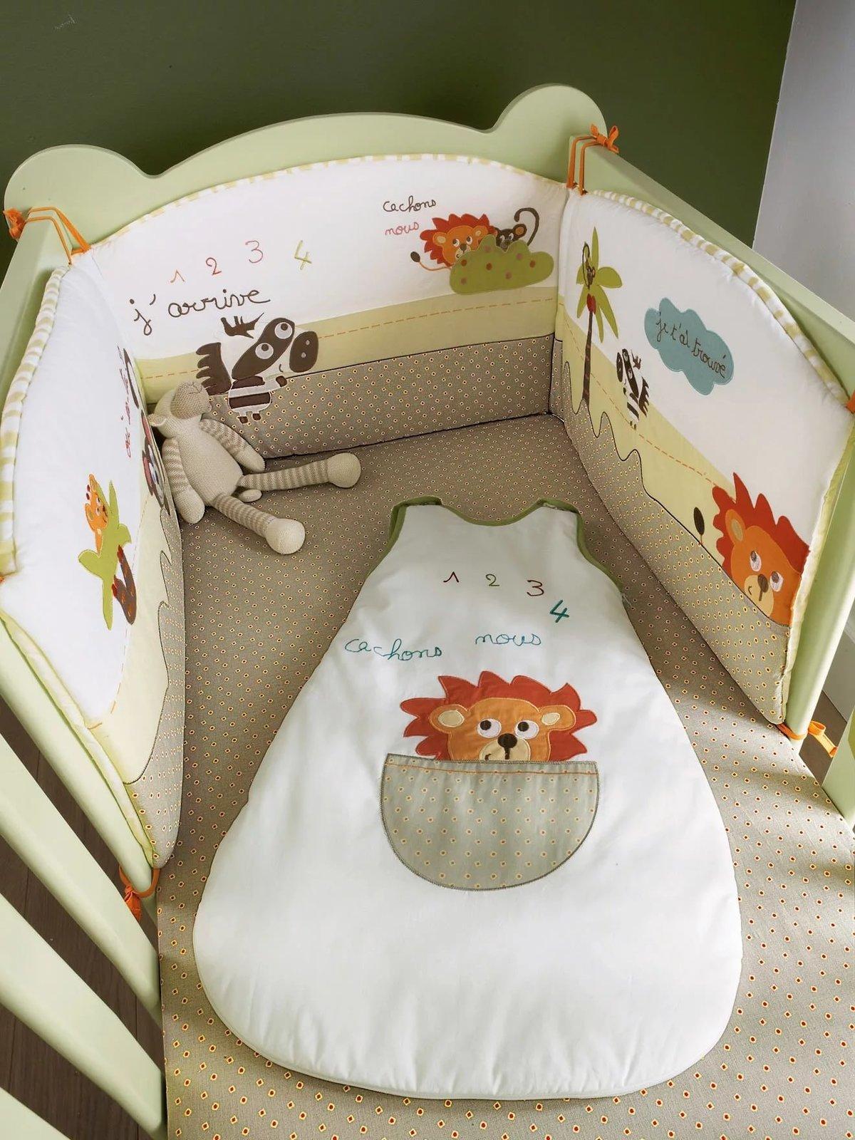 Бортики в детскую кроватку для новорожденных своими руками 68