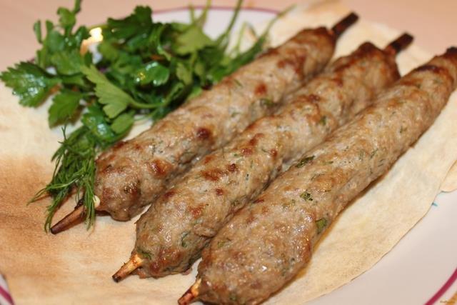 Рецепт люля-кебаб в домашних условиях в духовке на шпажках рецепт