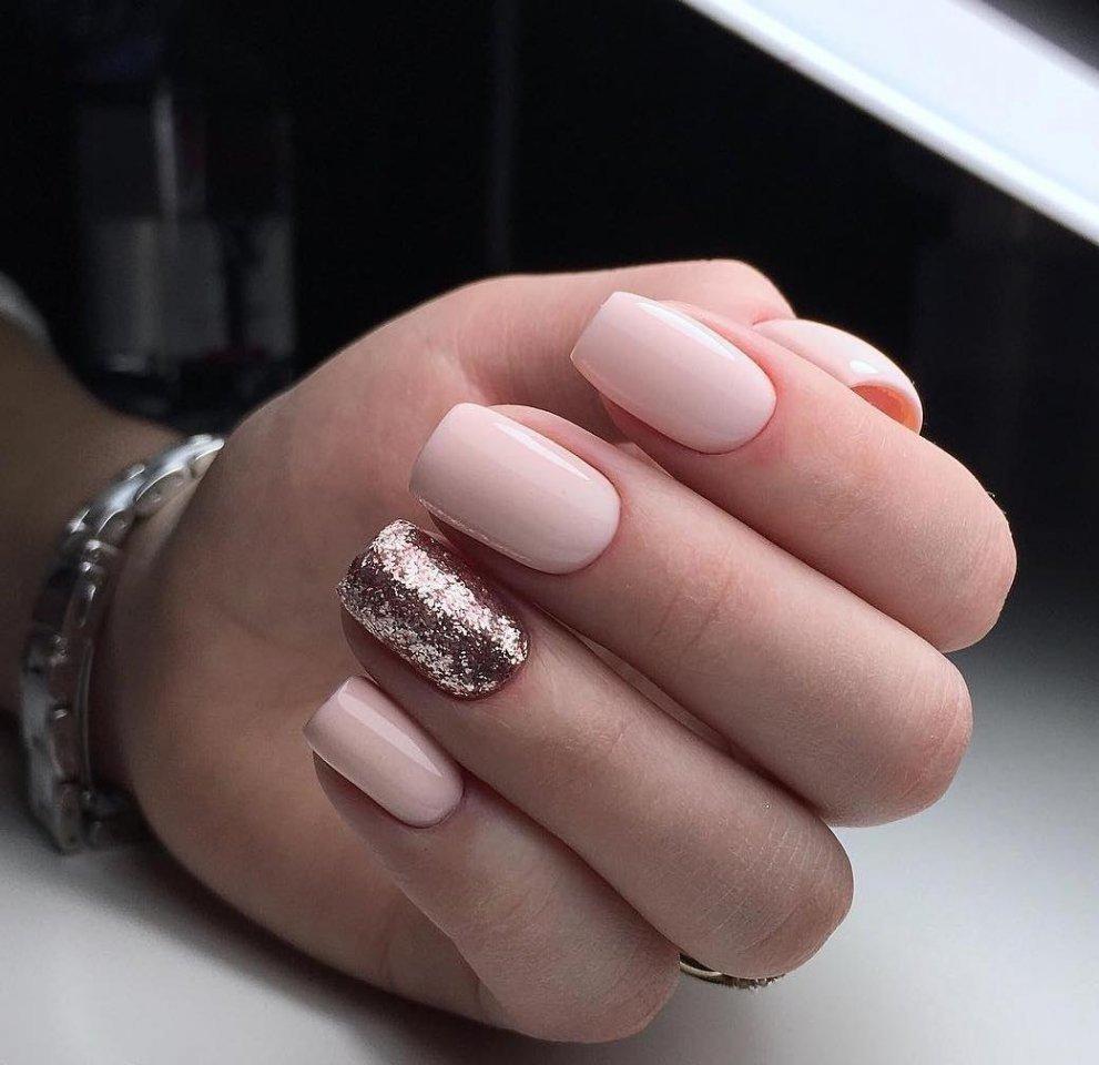 Красивый Гель Лак На Короткие Ногти Фото