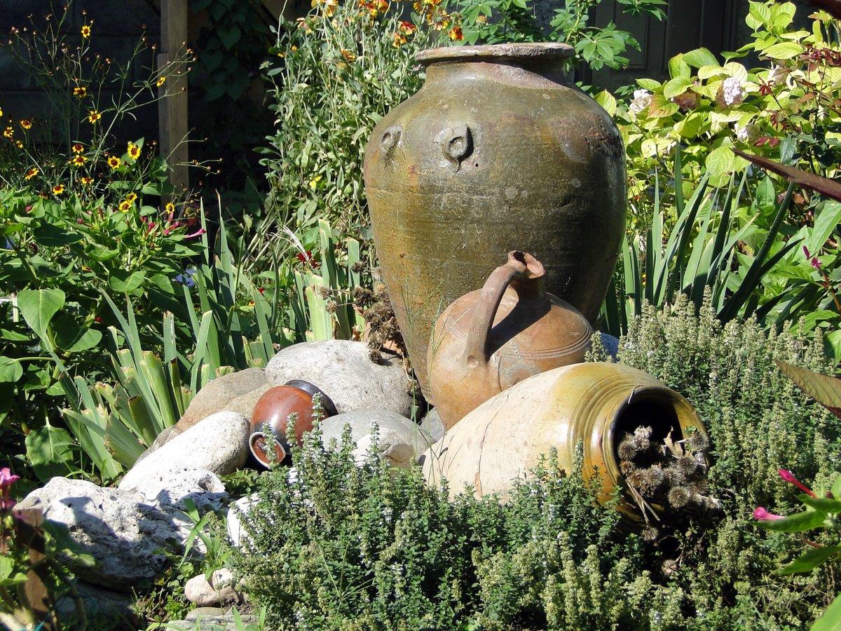 Кувшин для сада своими руками