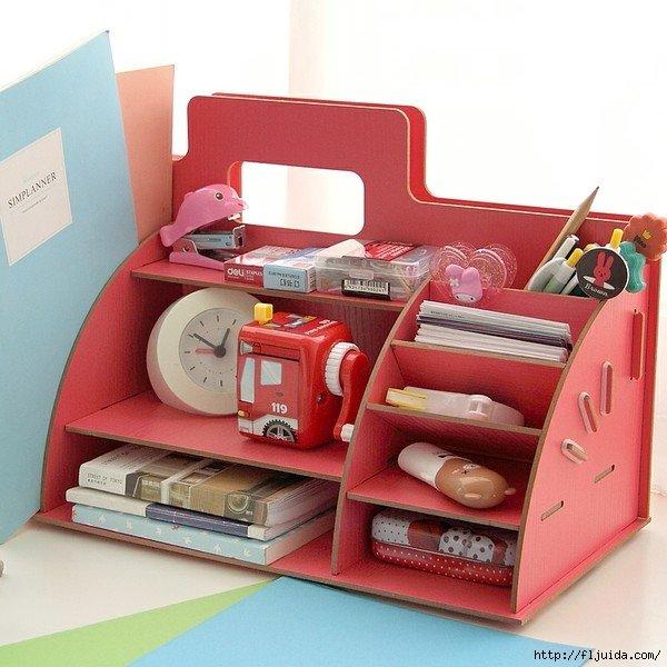 Органайзер из картона для мелочей