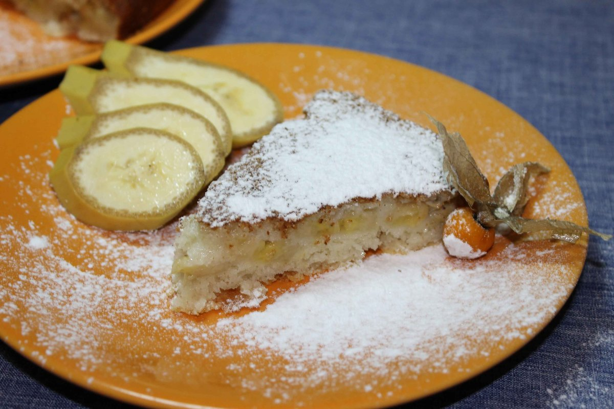 Бананы в духовке с творогом рецепт пошагово