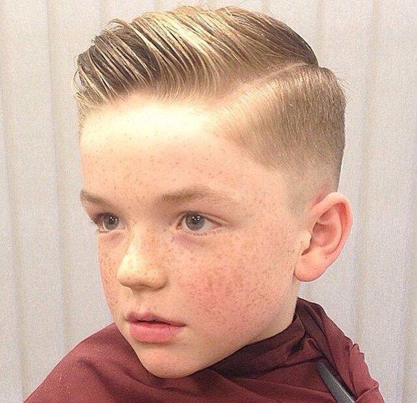Причёски для мальчика