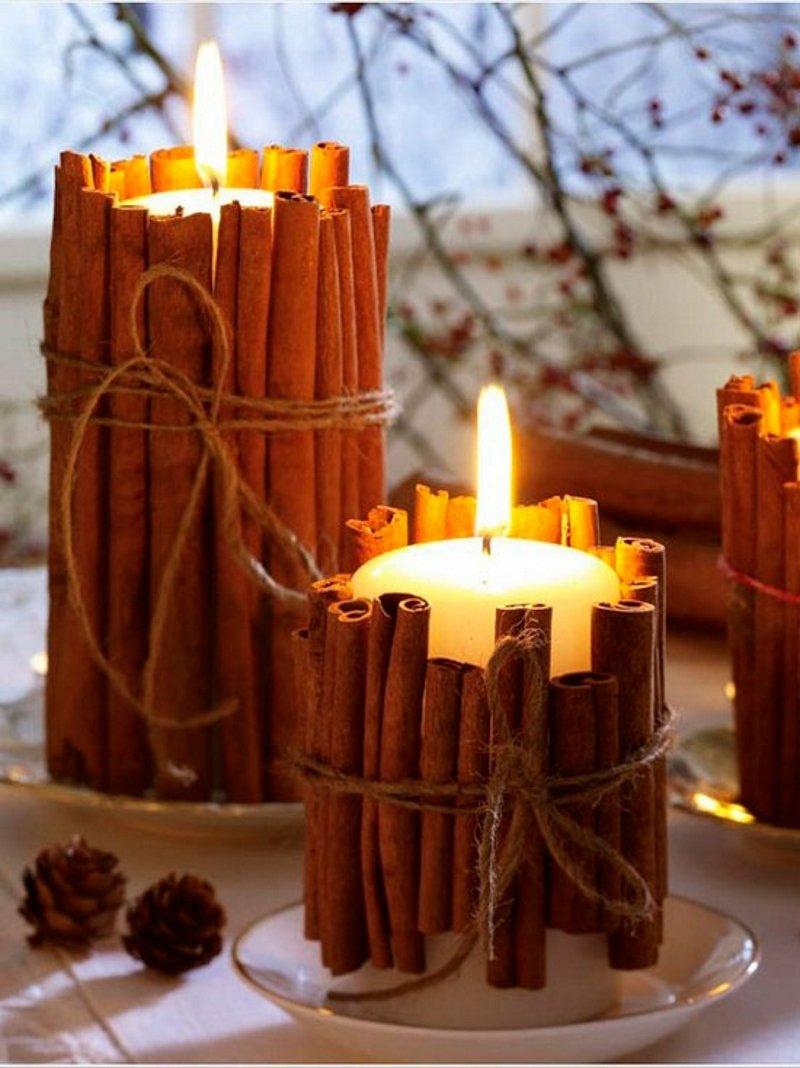 Свечи подарочные своими руками