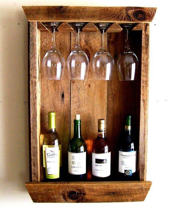 Подставка для бутылки вина из дерева своими руками 65