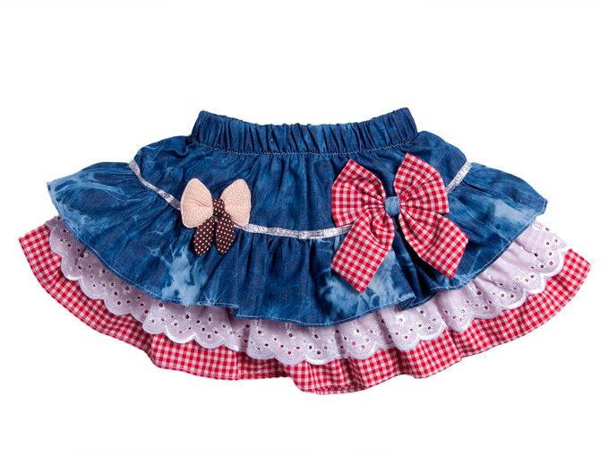 Сшить джинсовую юбку для девочки 2 года 71
