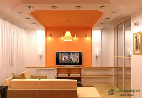 Гостиная фото интерьер 16м2
