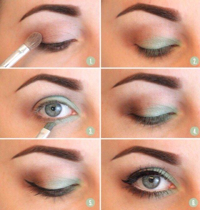 Макияж глаз смоки айс для зеленых глаз пошаговое