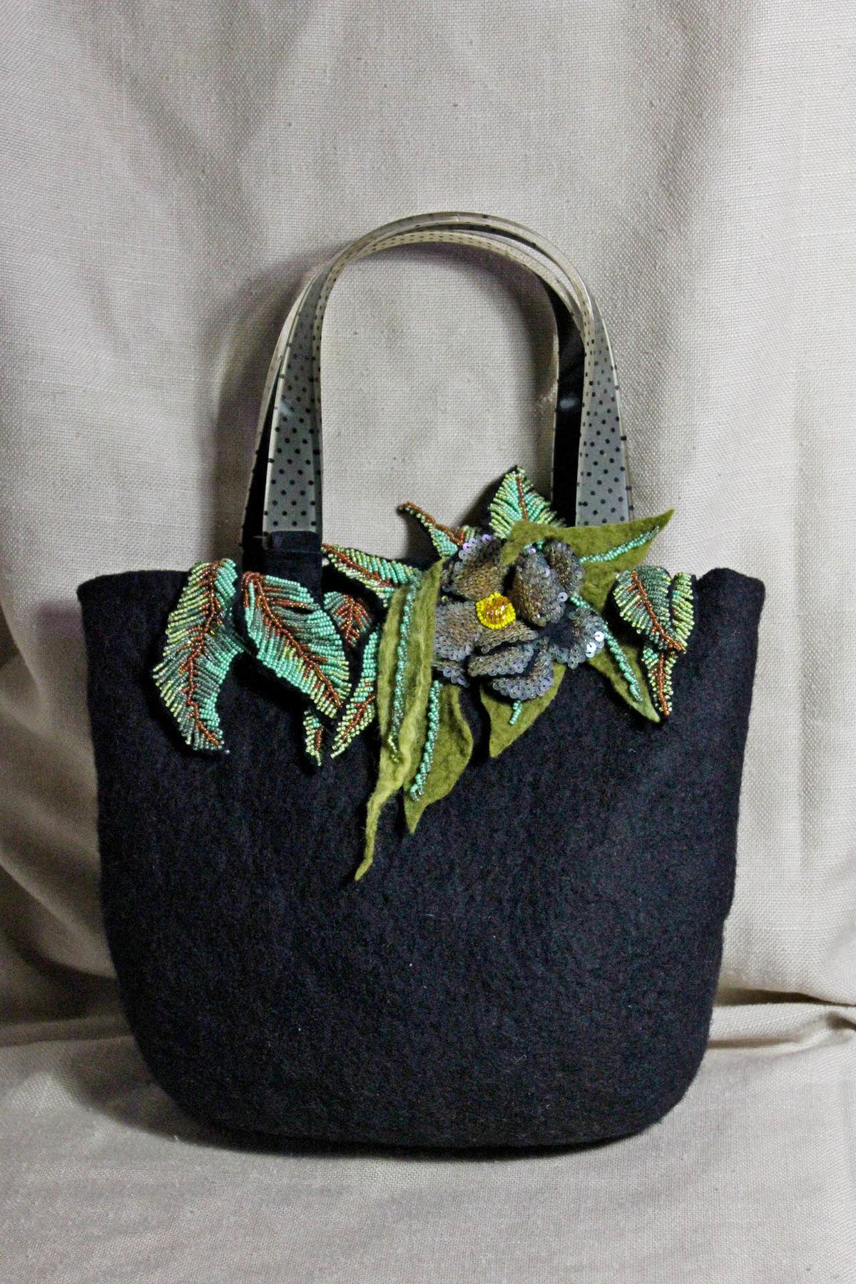 Декор бусинами сумки своими руками мастер класс 44