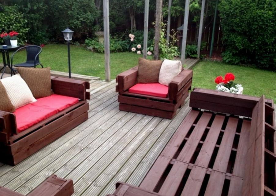 Садовая мебель своим и руками 385