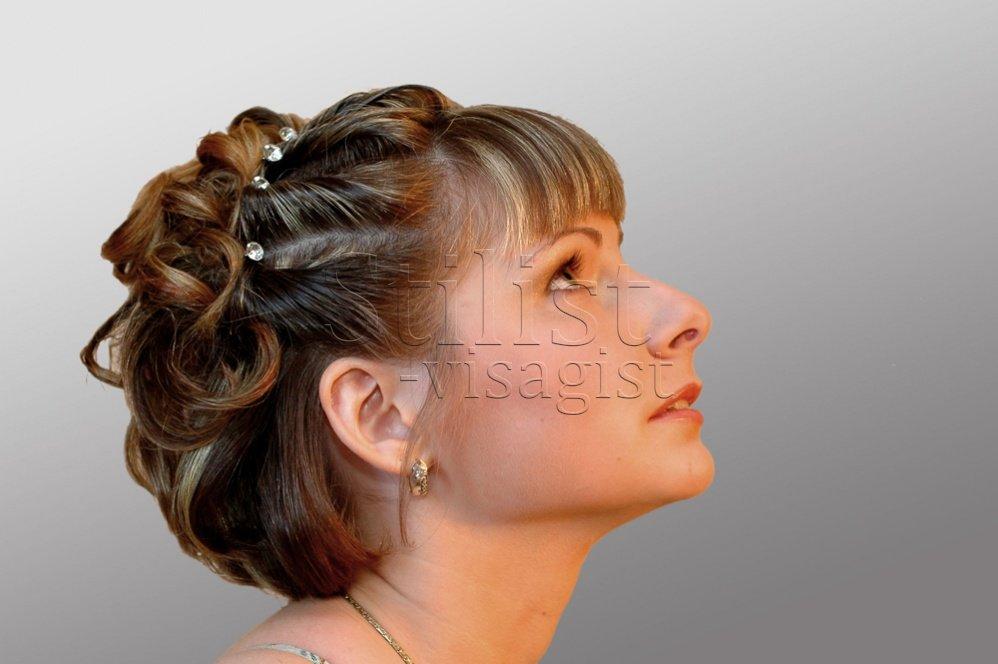 Прически из жгутов на средние волосы