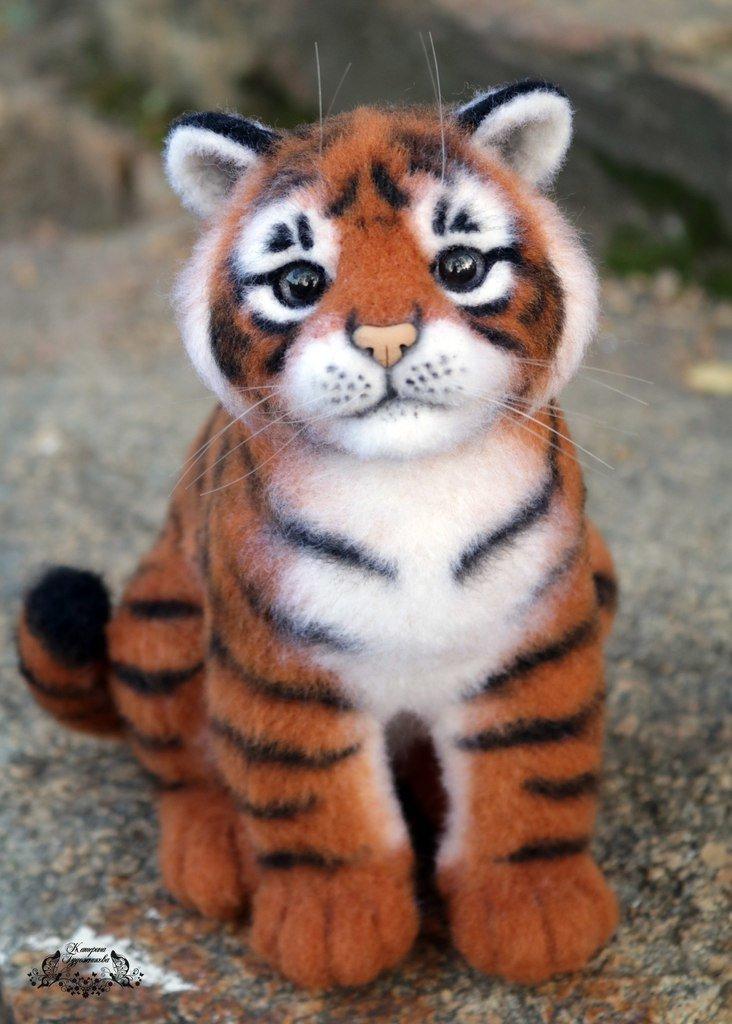 Сделать своими руками тигренка 64