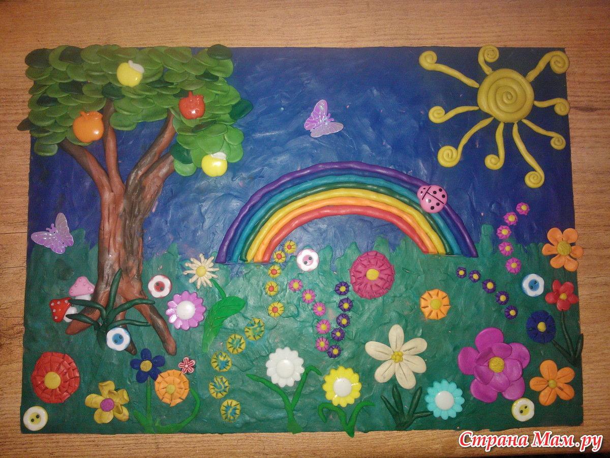 Летняя поделка в детский сад фото 82