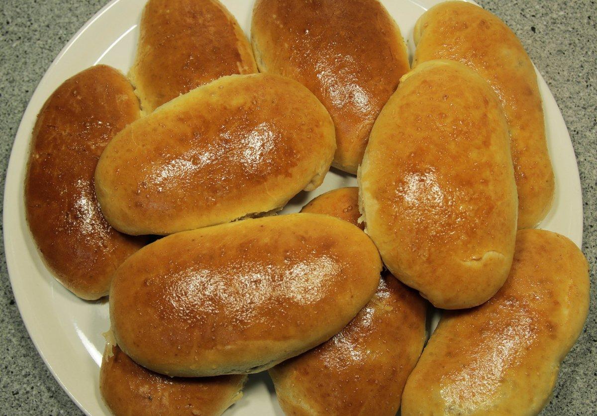 Рецепт пышных пирожков с капустой
