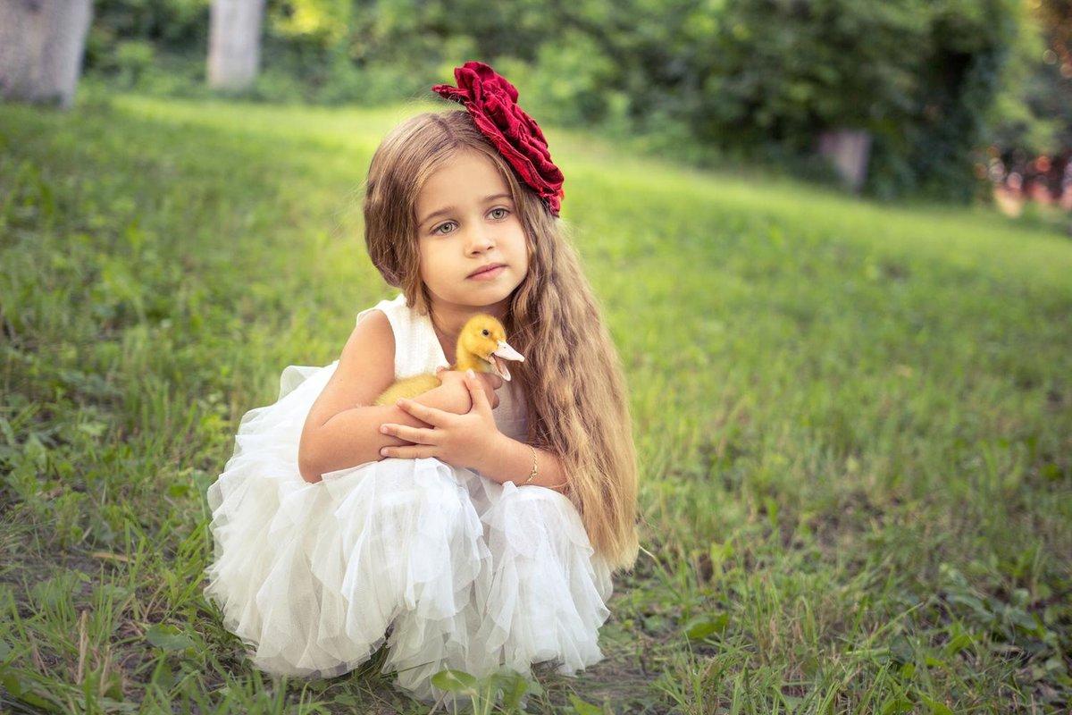 Идея для фото девочке