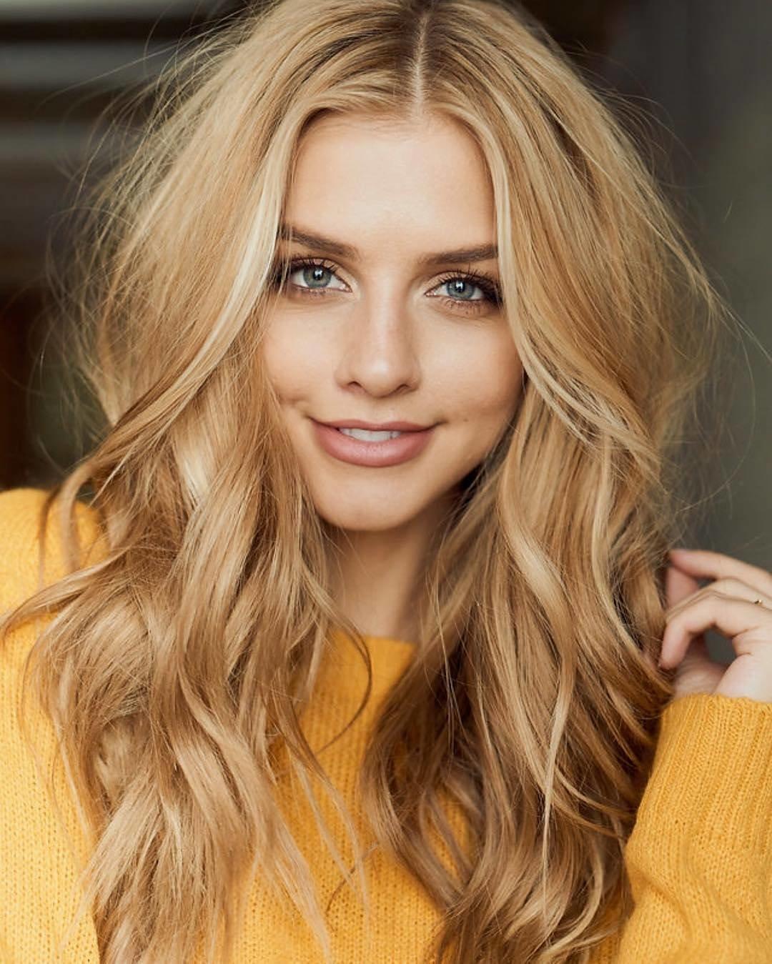 Светло русый блондин цвет волос фото