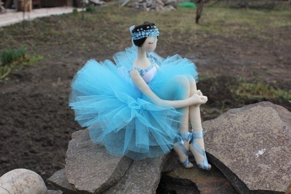 Кукла тильда балерина своими руками