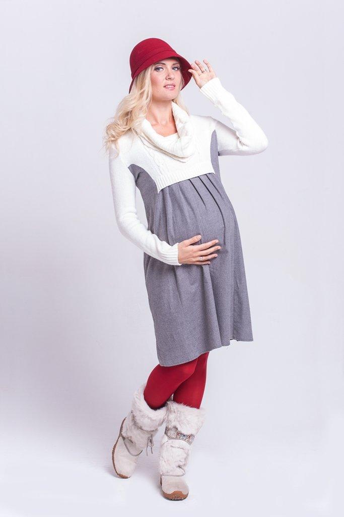 Платье для беременных связать 29