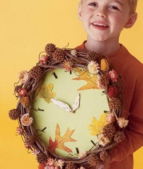 Идеи осенних поделок в детский сад фото