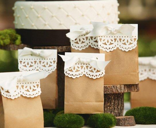 Упаковка для подарка на свадьбу гостям 41