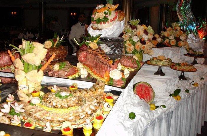 Блюда на свадьбу