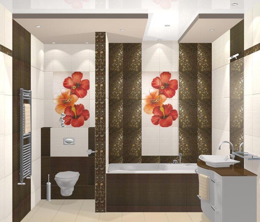 Отделка плитка для ванной комнаты дизайн