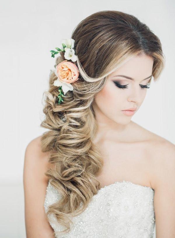 Свадебная прическа в испанском стиле