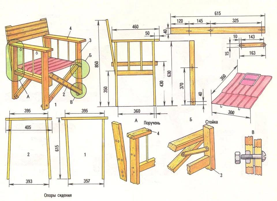 Мебель из дерева своими руками в домашних 108