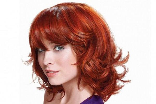 Причёски на рыжих волосах фото