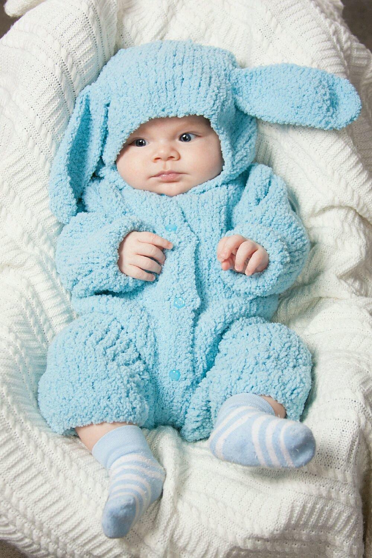 Вязание костюмчика на новорожденного мальчика 563