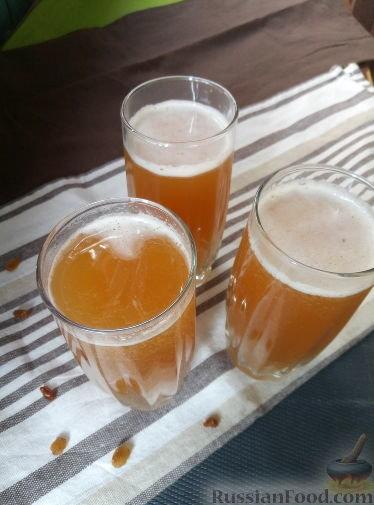 Квас алкогольный в домашних условиях на сухих дрожжах