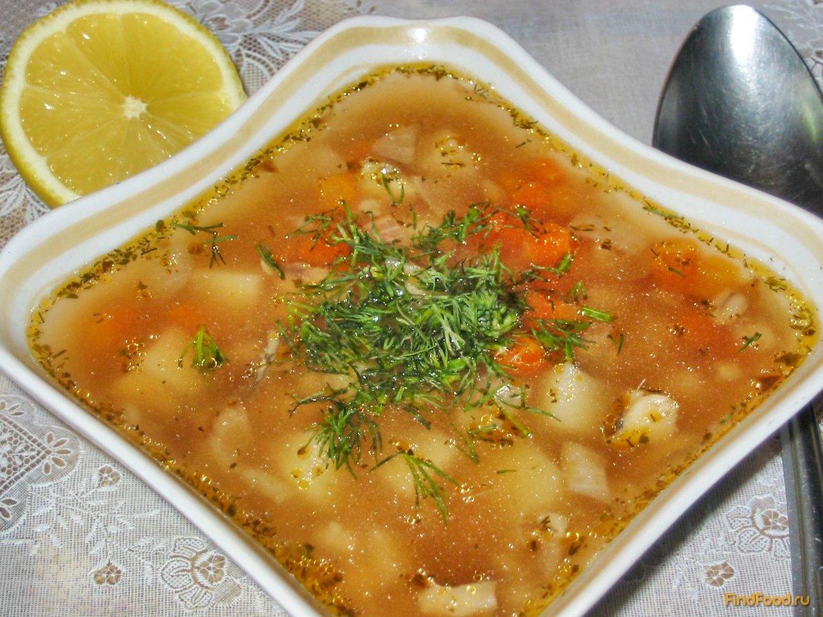 Фото рецепт рыбный суп с перловкой рецепт
