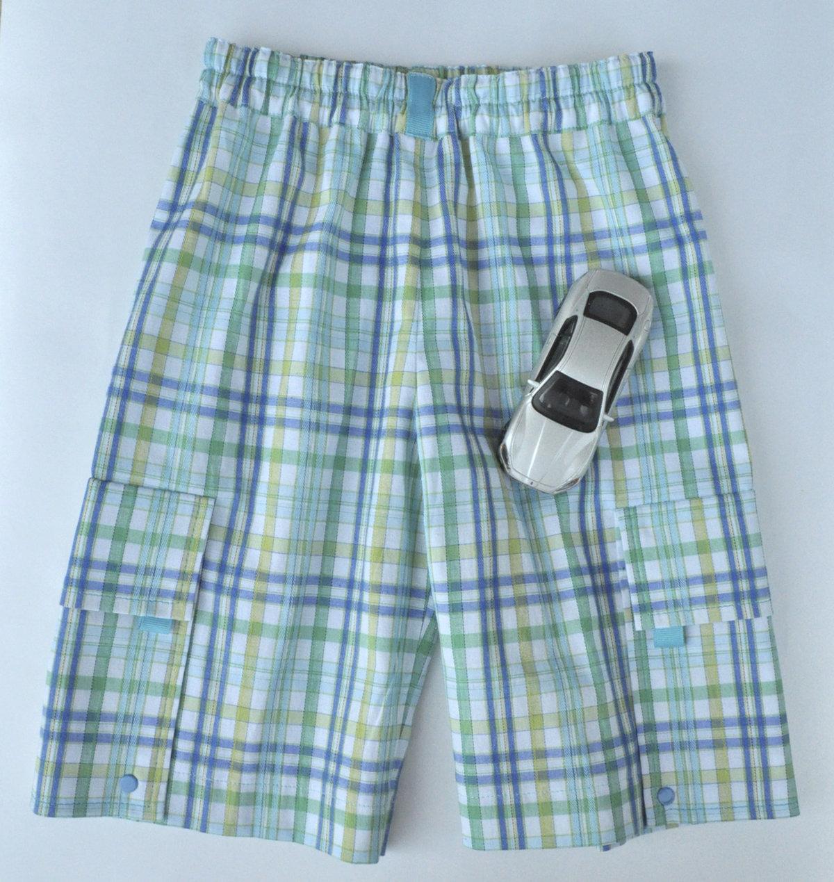Как сшить шорты с накладными карманами XL Мастер-классы 28