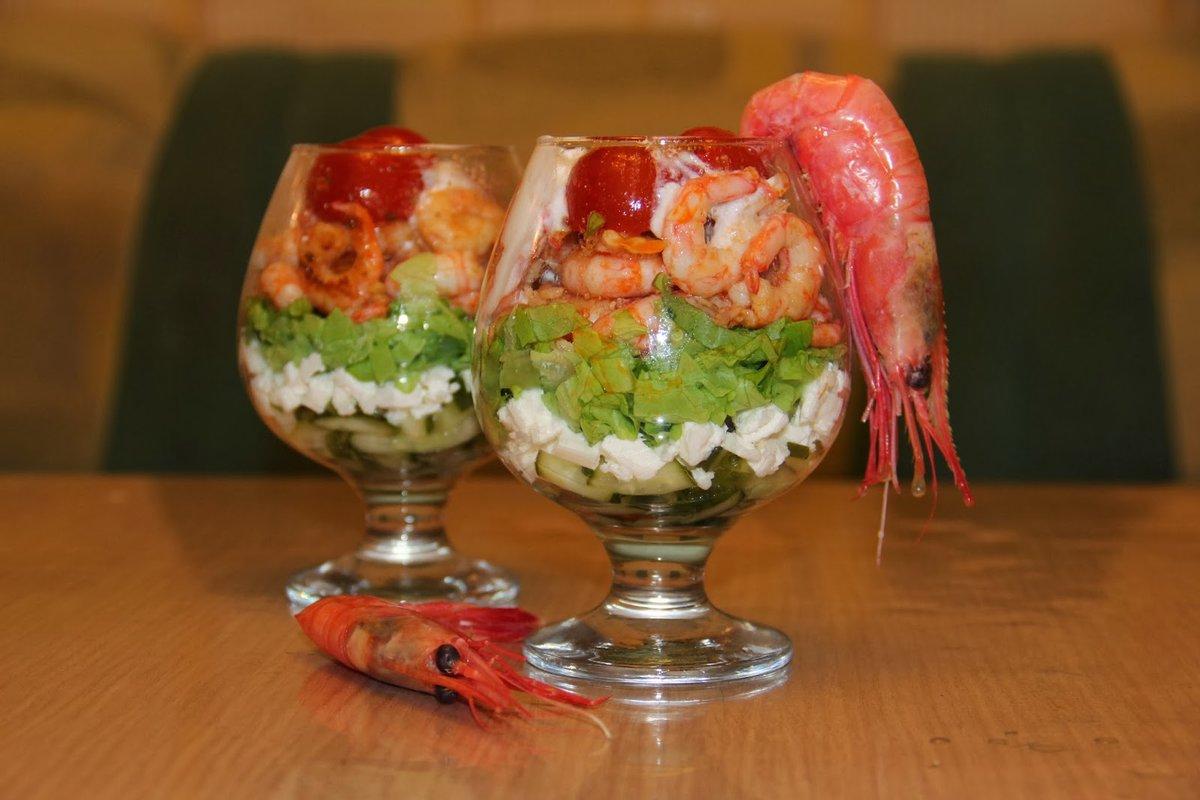 Пошаговый рецепт салат коктейль с