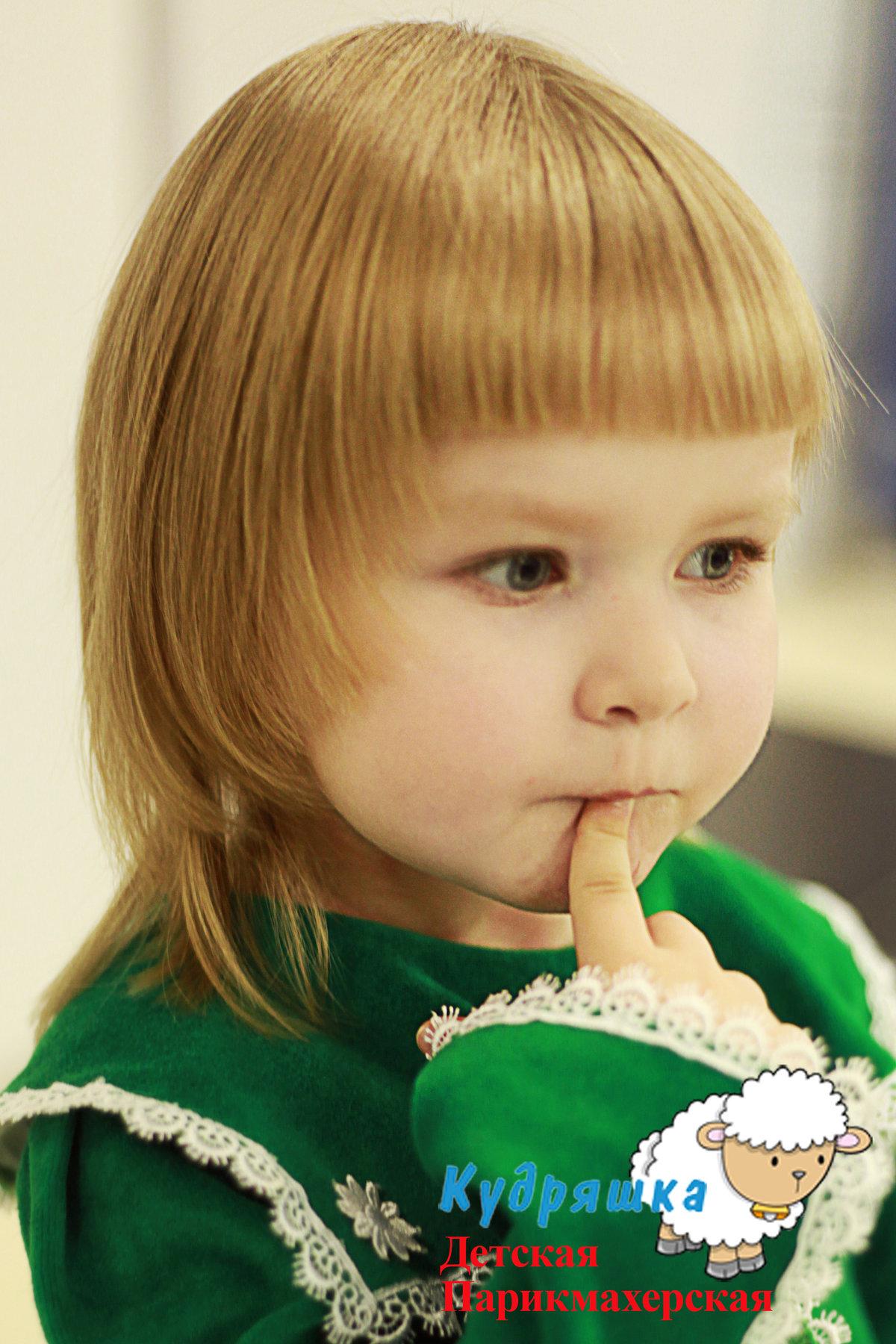 Фото причесок девочек 3 лет