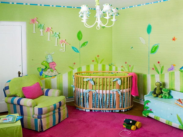 Как украсить детская комнату своими руками