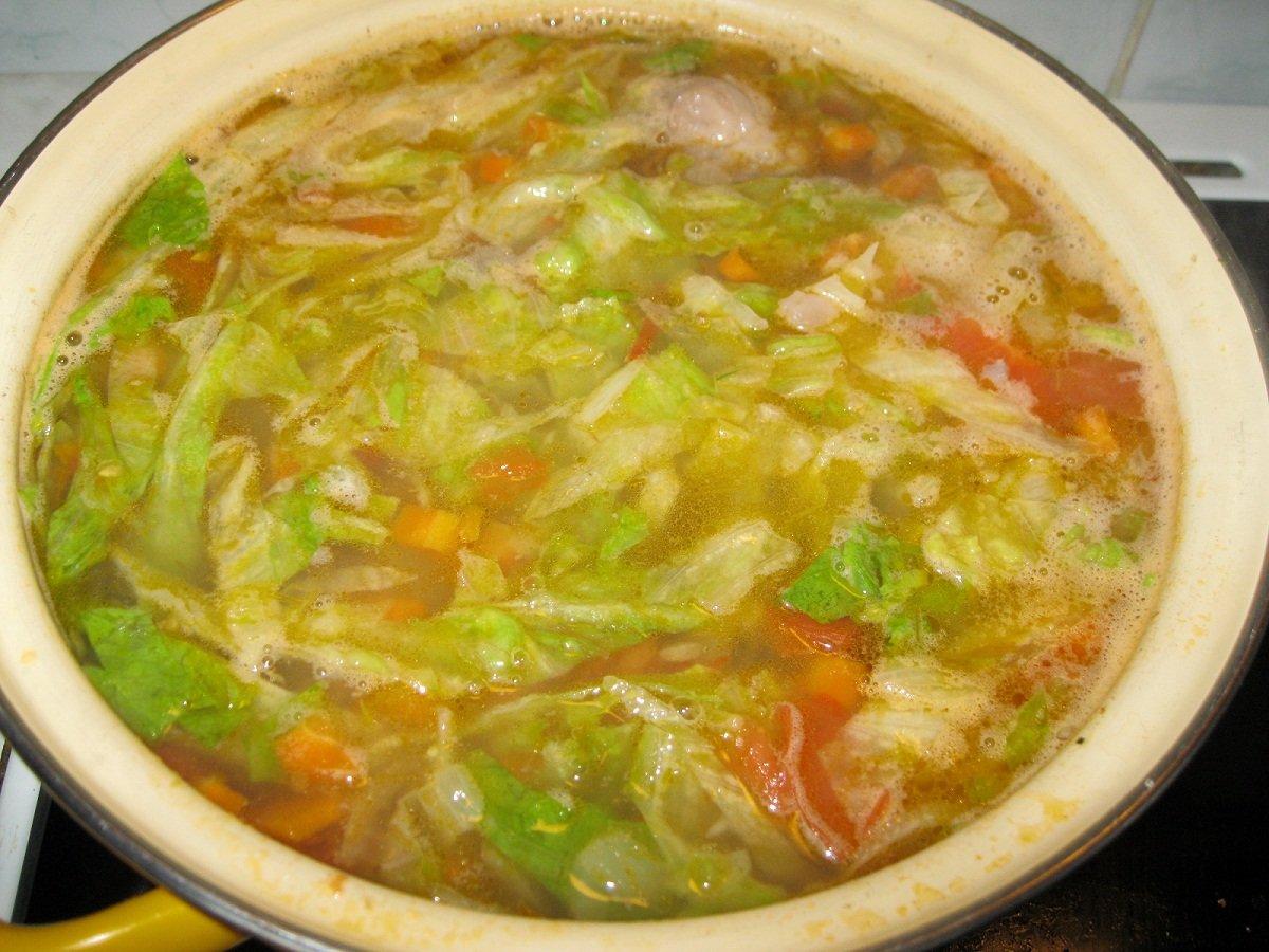 Варим щи из капусты пошаговый рецепт