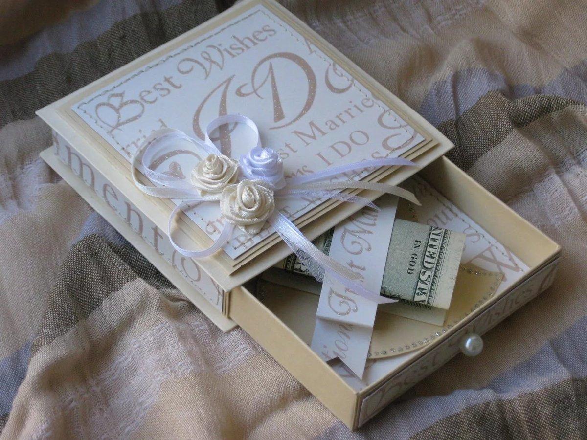 Денежная коробка на свадьбу своими руками 10