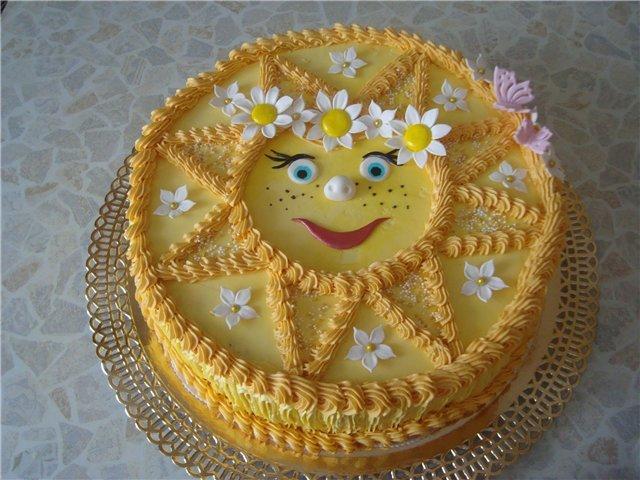 оформление торта на день рождения ребенку креативно - карточка от пользователя korshun.soroka в Яндекс.Коллекциях