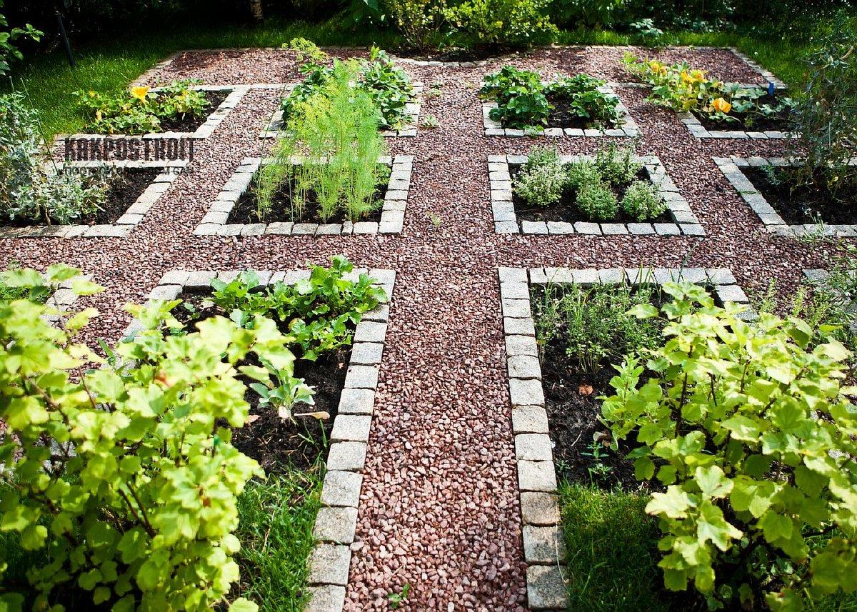 Красивый огород своими руками: оформление огорода на дачном 20