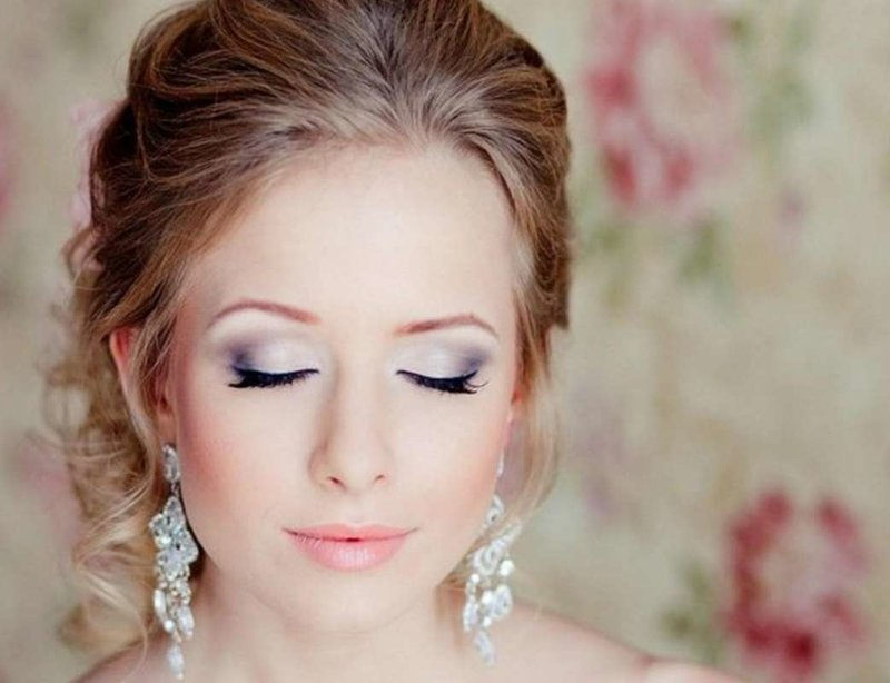 Картинки макияжа глаз на свадьбу