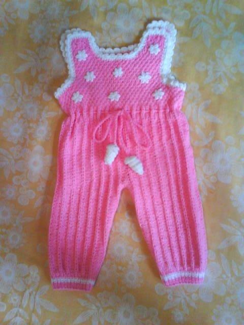 Вязание для новорожденных на спицах ползунков