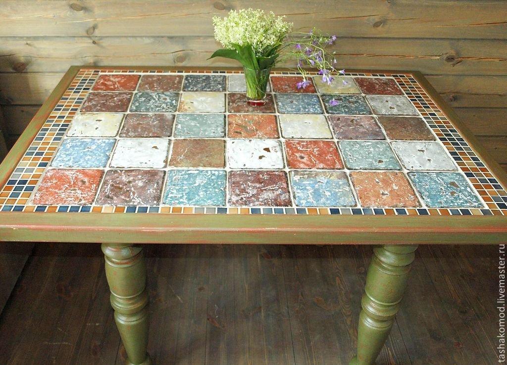 Керамический стол своими руками 14