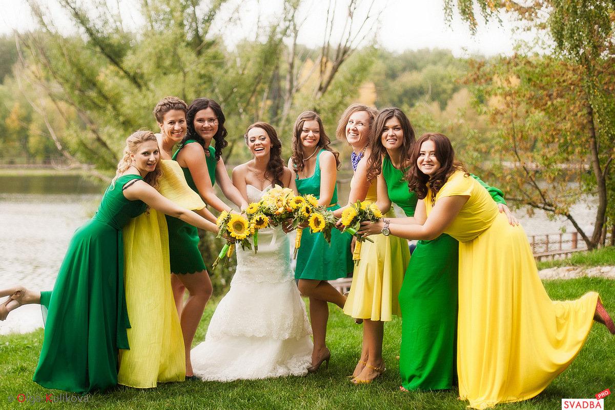 Свадьба в цвете идеи фото